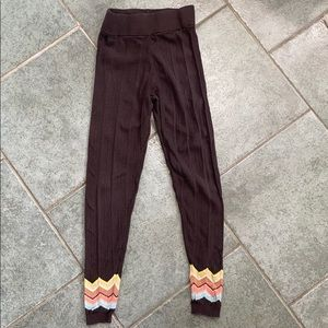 Missoni for Target sweater leggings with chevron